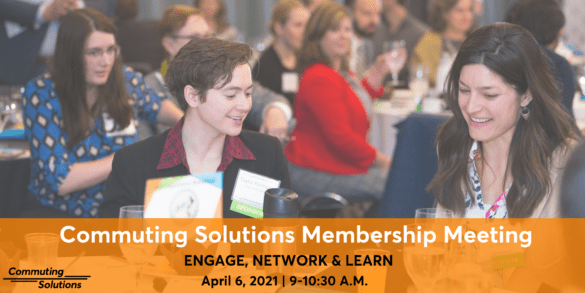 Commuting Solutions Membership Meeting Logo