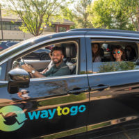 Group vanpools to work together