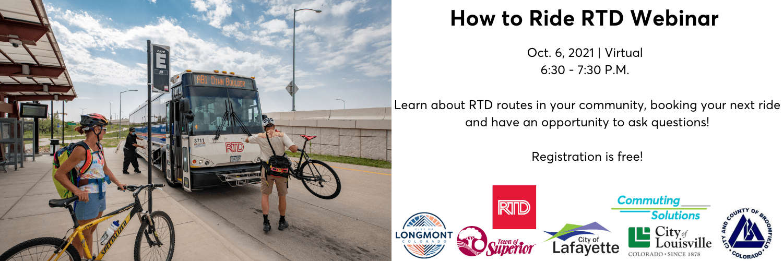 How to Ride RTD Webinar Logo