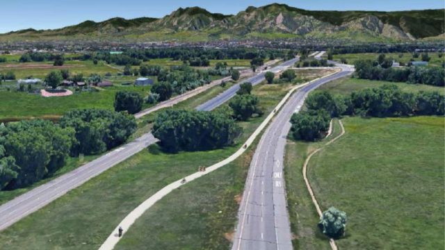 Conceptual View of the SH 119 Bikeway