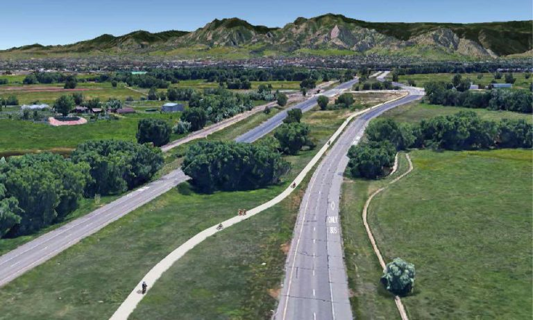 Conceptual View of the SH 119 Bikeway